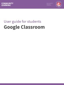 classroom student guide