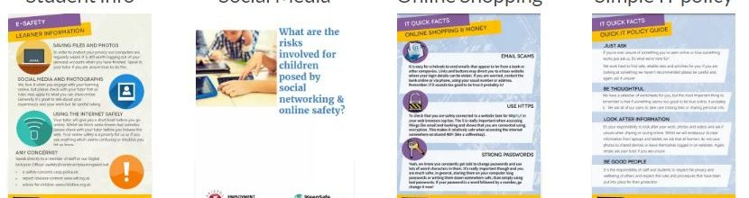 Updated e-safety docs