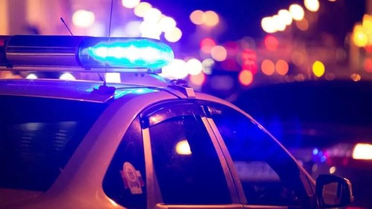 police car e