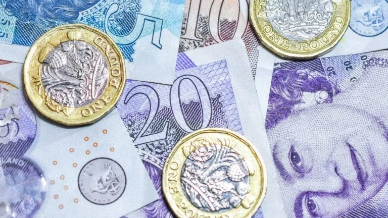british money e