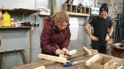 Building skills at the S.S. Great Britian