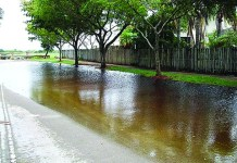 Town joins developer for drainage improvement project