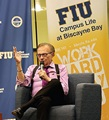 Larry King makes appearance at FIU Biscayne Bay Campus