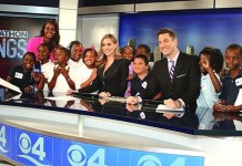 Students get inside view of how TV station works