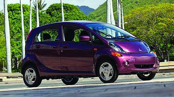 Mitsubishi i-MiEV efficient and affordable plug-in