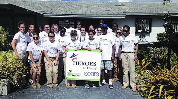 Rebuilding Together Miami joins Sears helping those who served