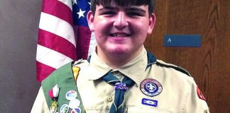Palmer Trinity student earns highest award in Boy Scouts