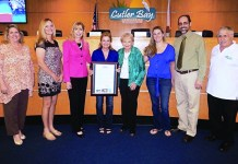 Cutler Bay Council presents proclamations to 2 residents
