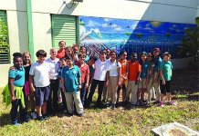 Whigham Elementary's Earth Day features mangroves and butterflies