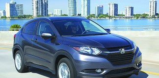 Honda HR-V: sporty all-new model packed with technology
