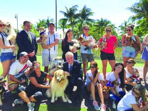 Omni CRA opens nerw dog park at Margaret Pace Park