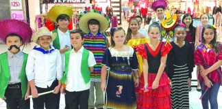 Whigham students perform for EXPO at Southland Mall