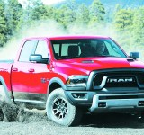 The 2016 Ram 1500 Rebel Crew Cab is one big ride