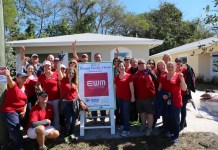 EWM Realty International takes part in 'Blitz Build'