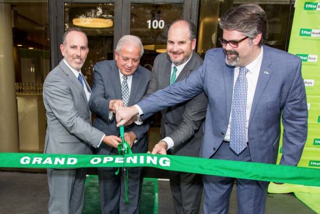 FirstBank Florida opens newest branch in Brickell