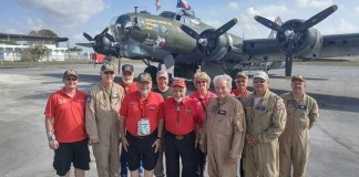 B-17 'Flying Fortress' flights delight aviation enthusiasts