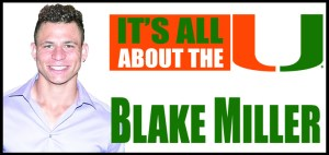its all about the U blake miller