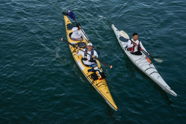 Castaways Against Cancer complete kayaking trip from Miami to Key West