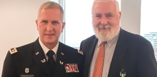 Stephen Maher honored by Florida Army National Guard