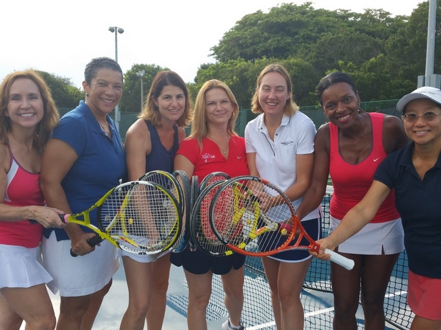 Coral Reef tennis team wins 5.5 combo league tourney