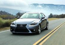2016 Lexus IS sport sedan line adds turbo gas engine