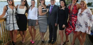 Elysee Miami's waterfront observation deck unveiled during event on Oct. 26