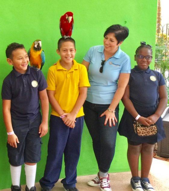 Biscayne Bay Kiwanis, Jungle Island reward students for gopd attendance