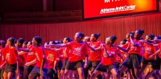 Adrienne Arsht Center's AileyCamp Miami performers
