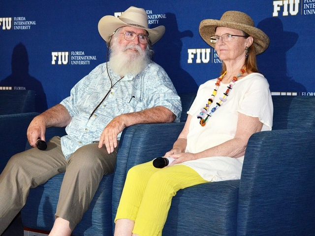 Clyde Butcher Photography Exhibit opened at FIU's Biscayne Bay Campus Hubert Library