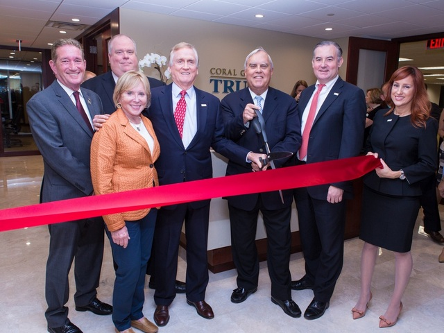 Coral Gables Trust Company hosts ribbon-cutting event