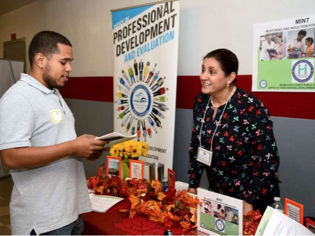 Miami-Dade County Public Schools serves vets, spouses with job fair