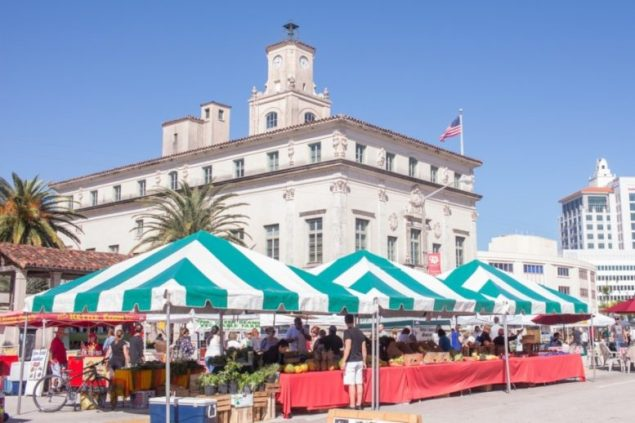Farmers Market returnsSaturdays until Mar. 25