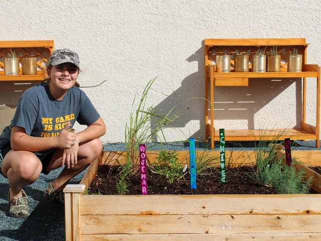 Garden helps Miami Sunset HS grow its agricultural program