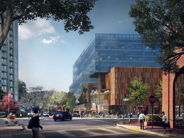 Plans unveiled new office, retail space in central Coconut Grove
