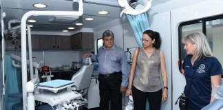 CHI unveils new state-of-the-art mobile dental trailer at ceremony