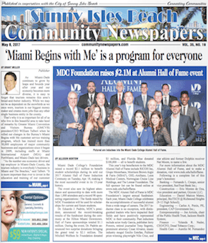 Sunny Isles Beach Florida Newspaper