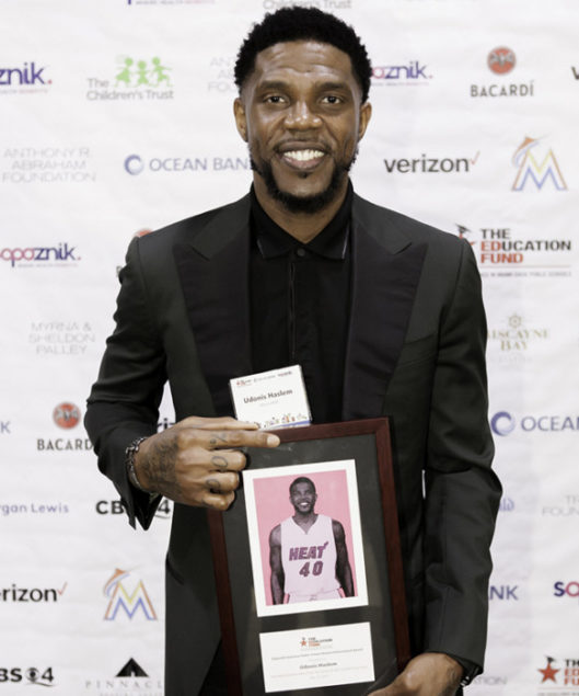 The Education Fund raises $215K, honors Miami Heat's Udonis Haslem