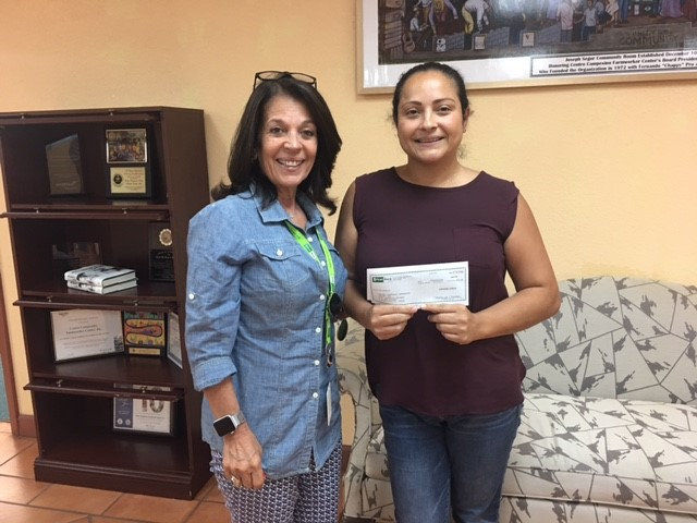 FirstBank Florida recognizes employee with donation to charities of her choice