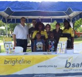 City, Overtown NET, Brightline donate backpacks, school supplies to youth