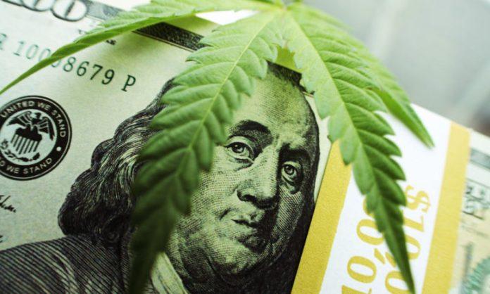 cryptocurrency cannabis and marijuana-min