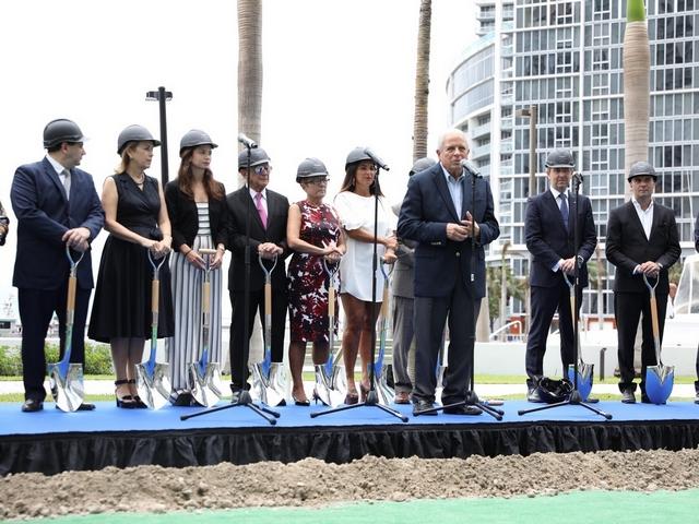 Aston Martin Residences breaks ground at Downtown Miami site