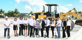 Century Homebuilders breaks ground for Century Park Place townhome community