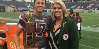 Jr. OB honors 16 student-athletes at FHSAA Football Championships.