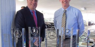 Mercedes-Benz dealership recognized for outstanding performance in 2017