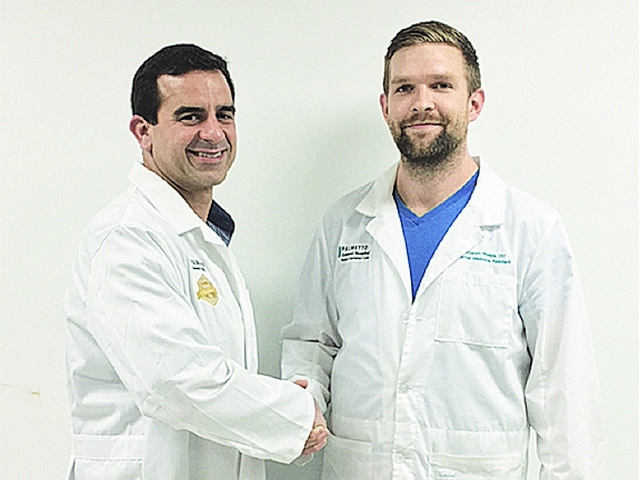 Dr. Phelps named Palmetto General Hospital's 'Resident of the Quarter'