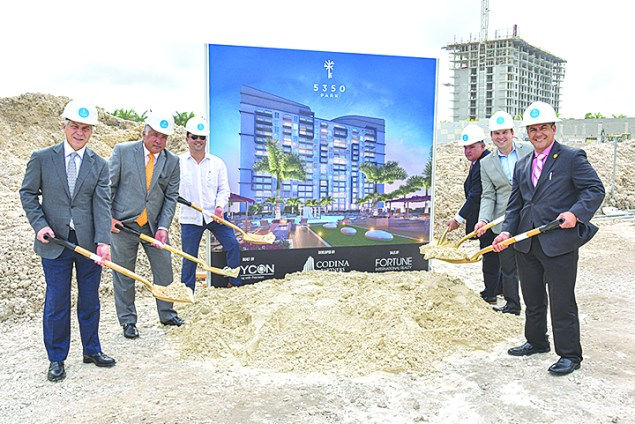 Codina Partners breaks ground on '5350 Park' at Downtown Doral