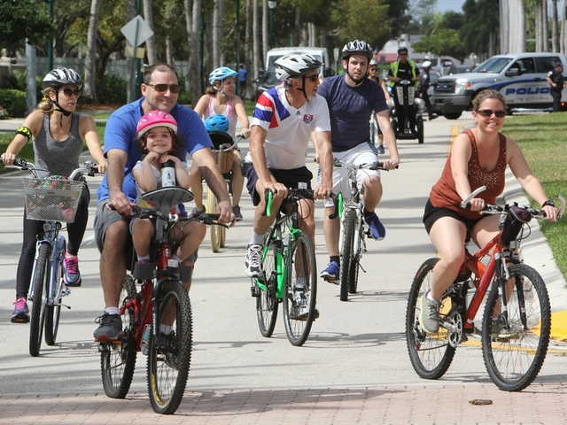 City of Aventura recognized at Bike 305 event