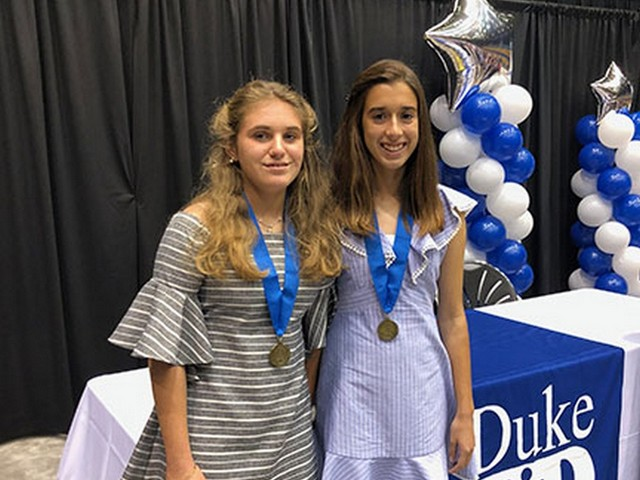 Two St. Theresa students honored for exceptional academic success