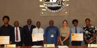 City of West Park congratulates 2018 college scholarship recipients!