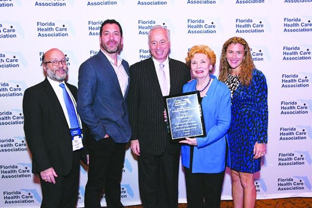 Elaine Bloom named Arthur H. Harris Government Services Award Recipient